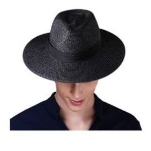 Panama Hat Sun Hats for Women Men Wide Brim Fedora